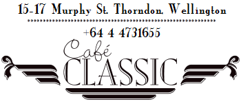 Cafe Classic Ph# +64 4 4731655, 15-17 Murphy St, Thorndon, Wellington